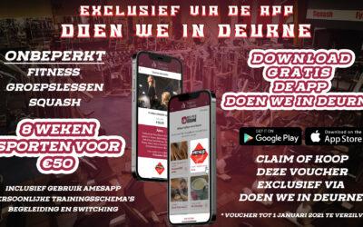 8 Weken voor € 50,00 exclusief via doen we in Deurne.